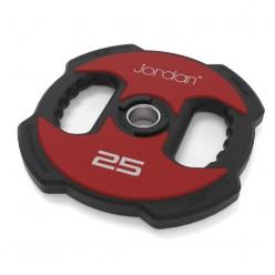 Disco Olímpico Jordan Fitness JT-IUPV2-02 Ignite Uretano 20kg