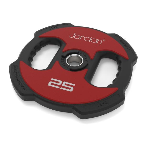 Disco Olímpico Jordan Fitness JT-IUPV2-04 Ignite Uretano 10kg