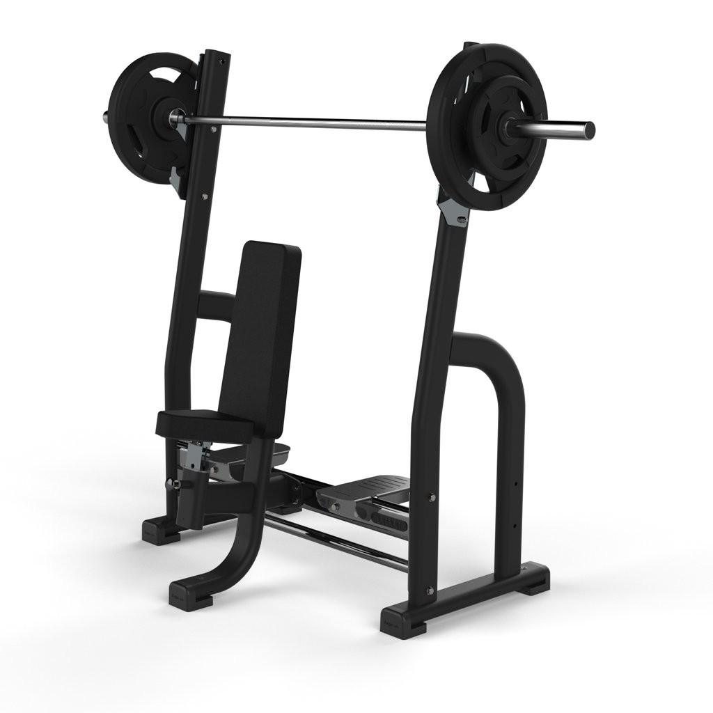 Banco Olímpico de Prensa Jordan Fitness JL-OSPB-BLK Negro