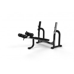 Banco Olímpico Declinado Jordan Fitness JL-ODB-GRY Gris