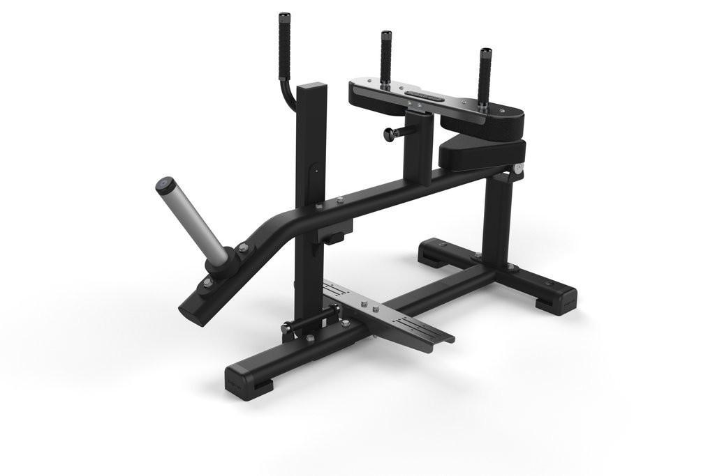 Banco para Gemelos Jordan Fitness JL-SCR-GRY Gris