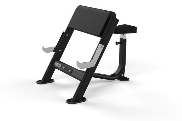 Banco para Biceps Jordan Fitness JL-SPCB-GRY Gris
