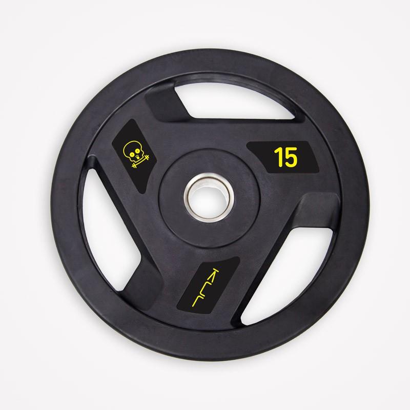 Set de Discos de Goma Kul Fitness E1101-S1 80kg
