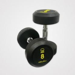Set Mancuernas de Goma Kul Fitness E1002-S5 de 27,5ka a 37,5kg