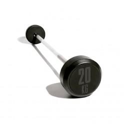 Set Barras con Peso de Goma Mets Fitness PF-9300-E2 10 Unidades