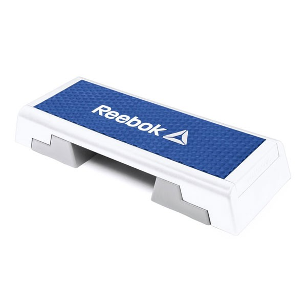 Adjuntar a Ciudad Menda marrón  Step Reebok RAEL-11150BL Blanco Azul - Pure Fitness