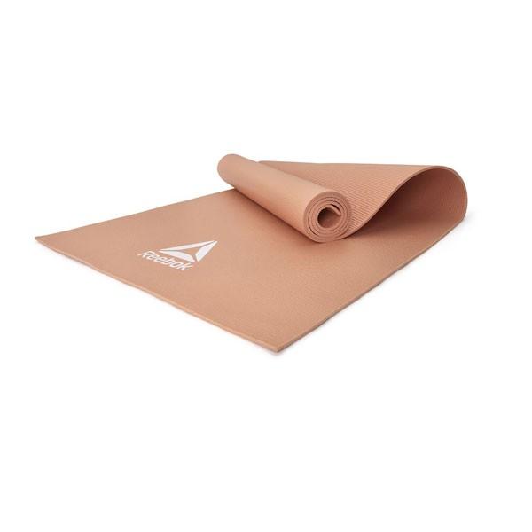 Colchoneta Yoga Reebok RAYG-11022DD Marrón Claro 4mm