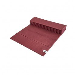 Esterilla Yoga Plegable Reebok RAYG-11050RW Vino 6 mm