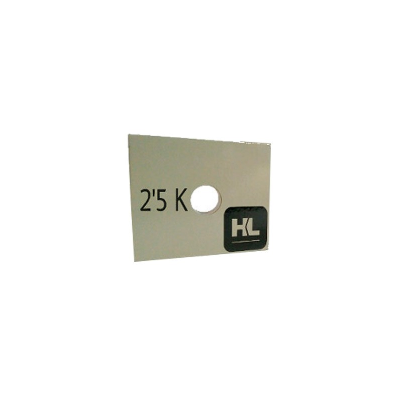 Placa de Peso Human Limit 2,5kg