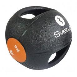 Balón Medicinal con Doble Agarre Sveltus 0884 4kg