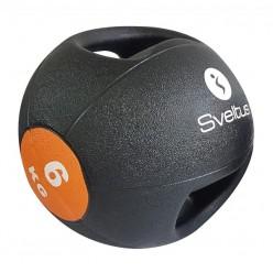 Balón Medicinal con Doble Agarre Sveltus 0886 6kg