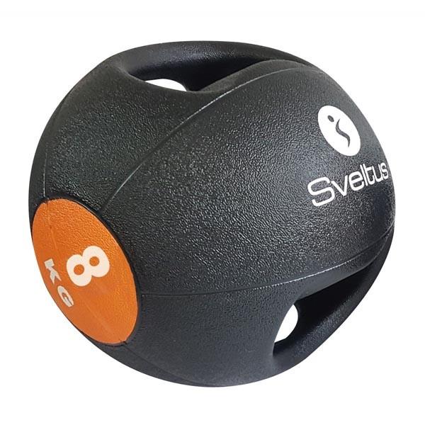 Balón Medicinal con Doble Agarre Sveltus 0888 8kg