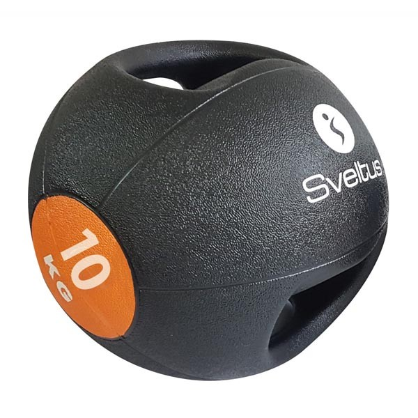 Balón Medicinal con Doble Agarre Sveltus 0890 10kg