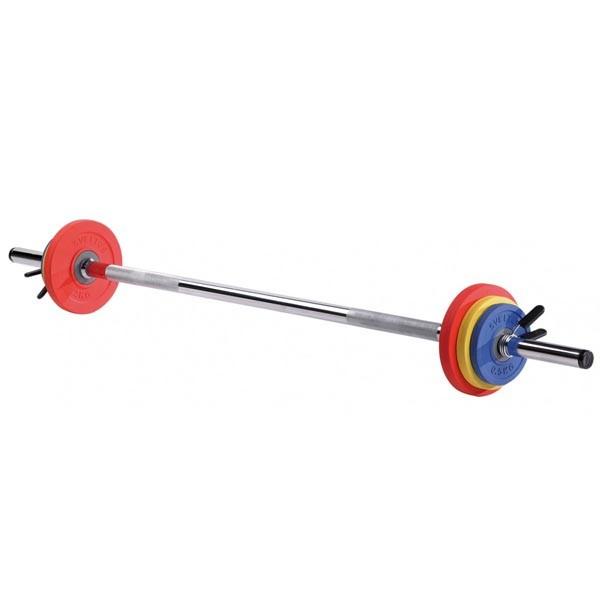 Set de Barras y Discos Sveltus Kit Fit'us 1121 8kg