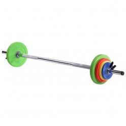 Set de Barras y Discos Sveltus Kit Fit'us 1131 16kg