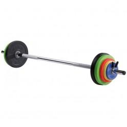 Set de Barras y Discos Sveltus Kit Fit'us 1141 26kg