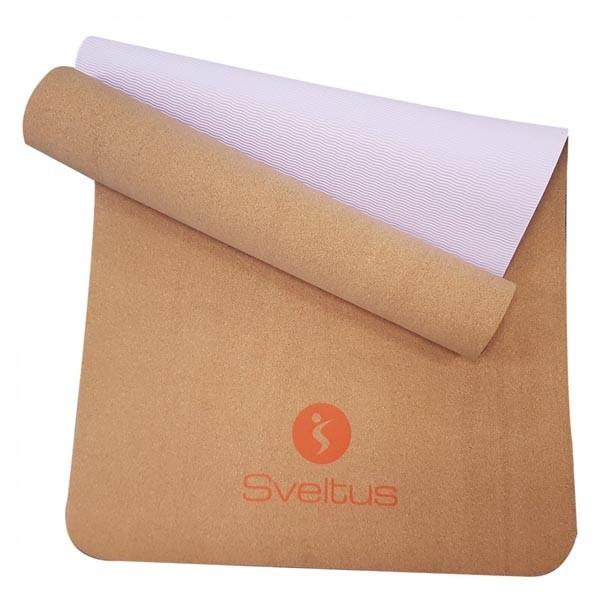 Colchoneta de Yoga Sveltus Tapis 1303 Corcho
