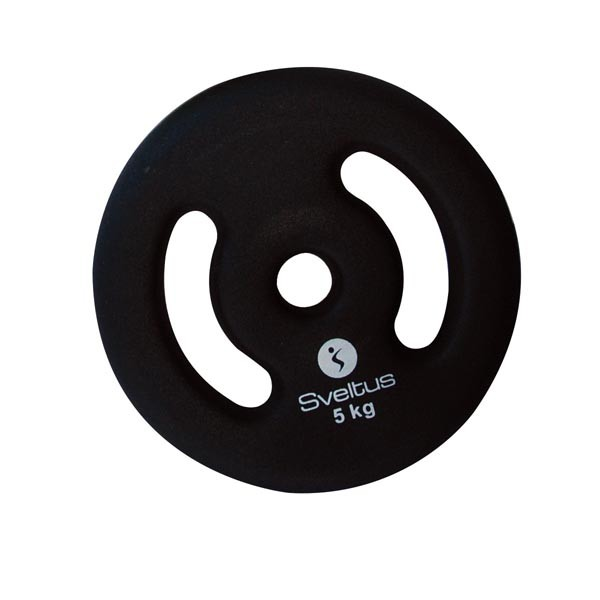 Discos con Asas Sveltus 3805 5kg Negro
