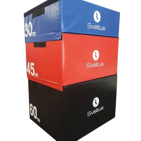 Pila Pliométrica Foam Sveltus Plyobox 4605