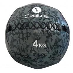 Wall Ball Sveltus 4924 4kg Camuflaje