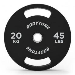 Disco de Goma con Agarre Bodytone 20kg 28mm