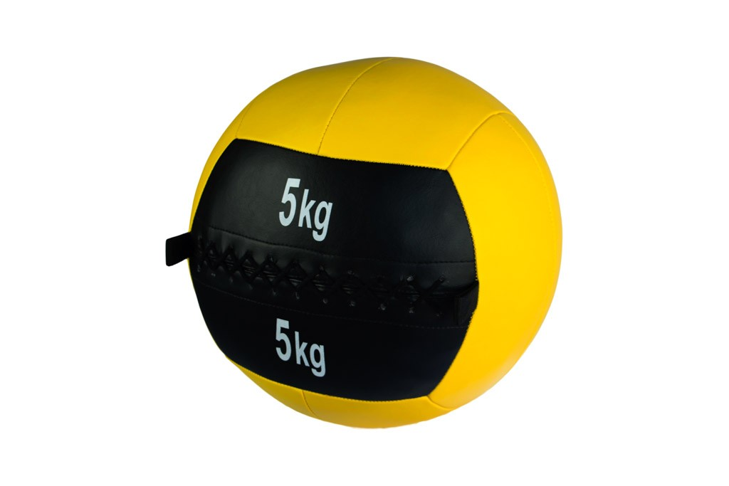 Wall Ball Json Fitness 5Kg Amarillo