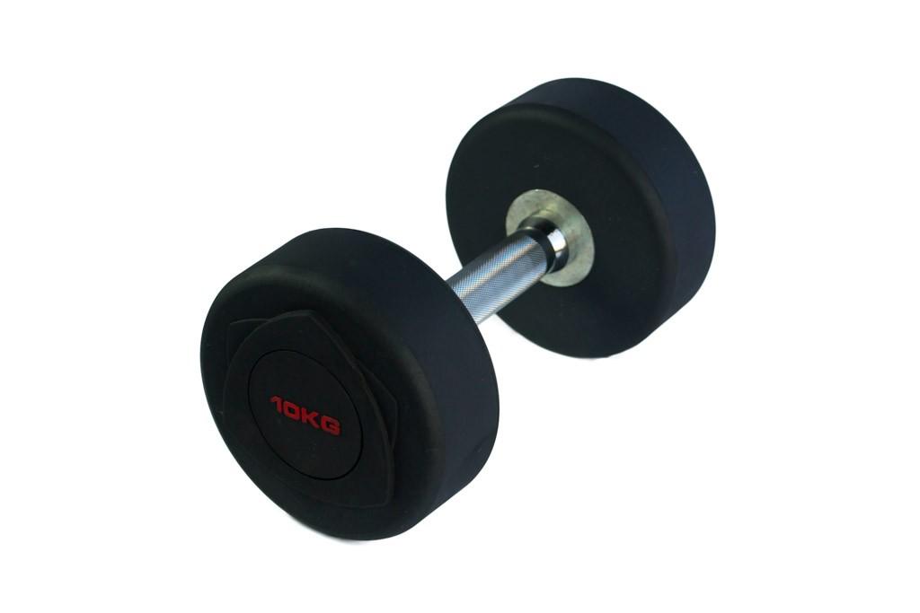 Mancuernas de Goma Json Fitness Black R 5kg