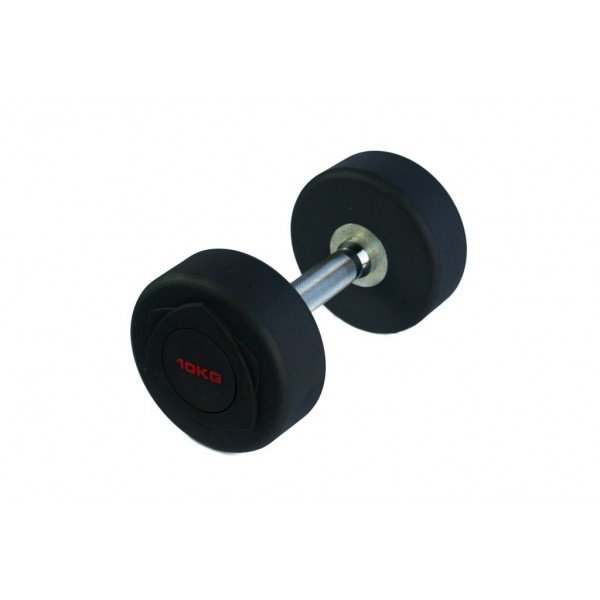 Mancuernas de Goma Json Fitness Black R 10kg
