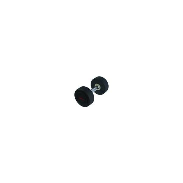 Mancuernas de Goma Json Fitness Black R 32,5kg