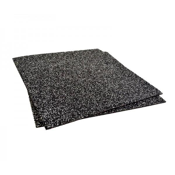 Losa Suelo Técnico 2cm Json Fitness Compacto 1x1m Negro