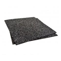 Losa Suelo Técnico 4cm Json Fitness Compacto 1x1m Negro