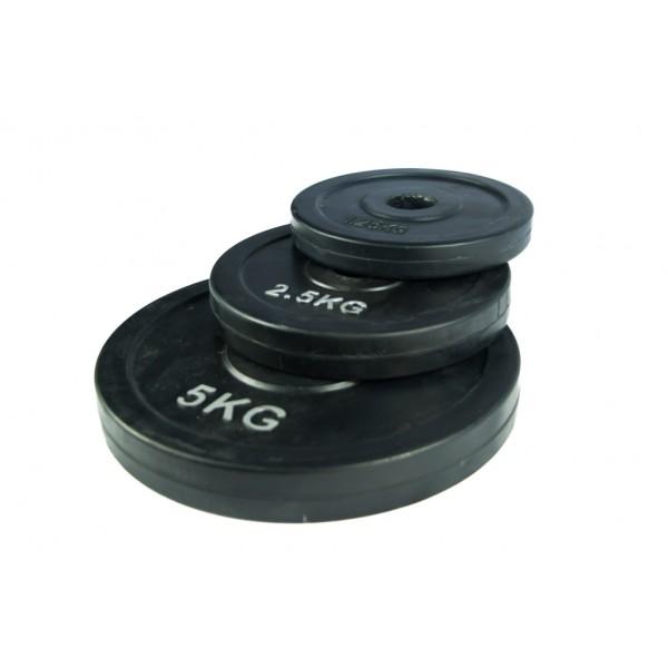 Disco de Goma 28mm Json Fitness 1,25kg
