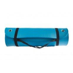 Esterilla NBR Json Fitness Troquelada Azul con Ojales