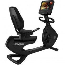 Bicicleta Reclinada Life Fitness Platinum Club Series Discover SE3HD Black Onix