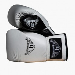 Guantes de Boxeo Pro Sparrin Hatton JLBOX-HATPG08 8 oz Negro con Cordones