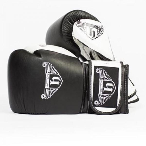 Guantes de Boxeo Pro Sparrin Hatton JLBOX-HATSG08 8 oz Negro con Velcro