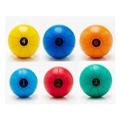 Balón Medicinal Loumet 4kg Amarillo