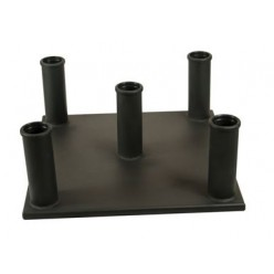 Soporte para Barras de 50mm Vertical Json Fitness (5 Barras )