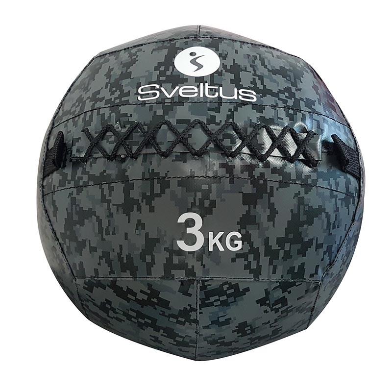 Wall Ball Sveltus 4923 3kg Camuflaje