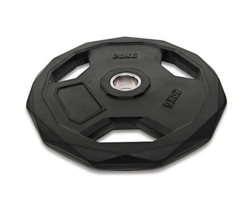 Disco Olímpico Json Fitness Hexagonal 10kg