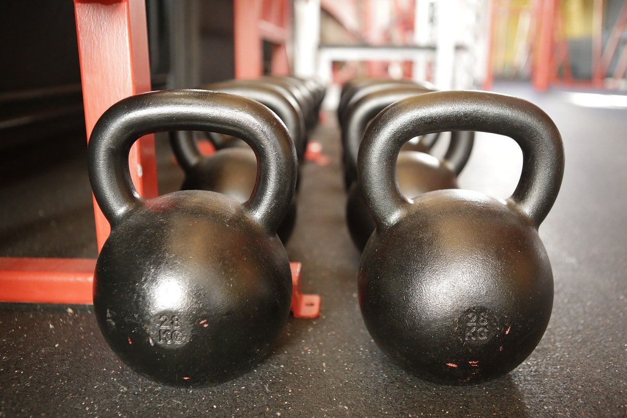 pesas rusas kettlebells hierro
